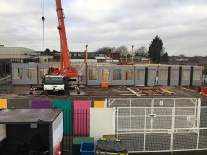 Progress image of the Morgan Sindall Construction Rockwood Academy project